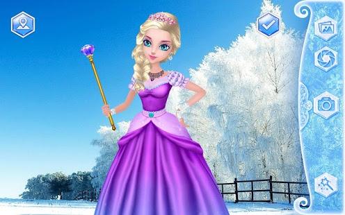 العاب ديكور ملكة الثلج