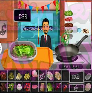 لعبة Super Cooking