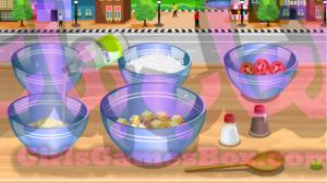 تحضير سلطة الخضروات -العاب طبخ