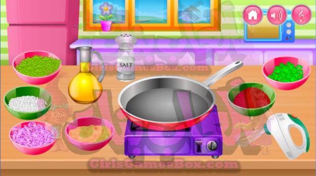 لعبه الطهي في المطبخ العاب طبخ