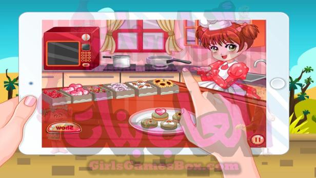 العاب طبخ سارة - طبخ الحلويات الشهية العاب طبخ