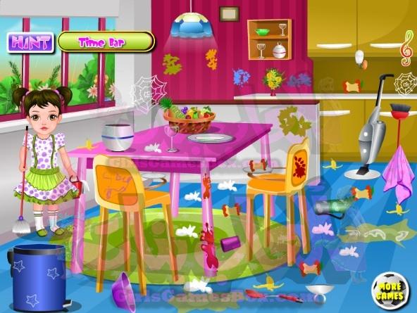 لعبه منزل تنظيف لعبه العاب ديكور