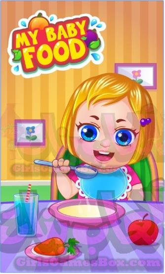 لعبة غذاء طفلي لعبة طهي للبنات العاب طبخ
