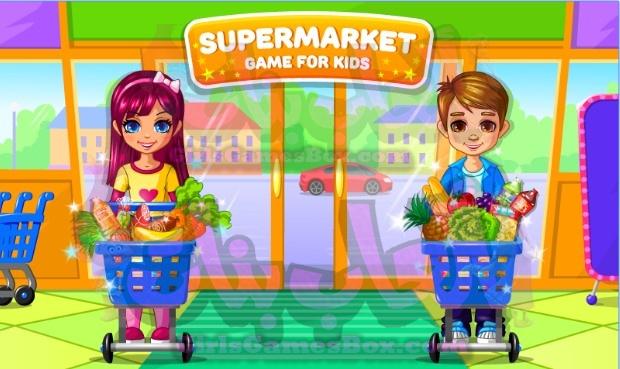 لعبة سوبر ماركيت- لعبة للاطفال العاب بنات ستايل