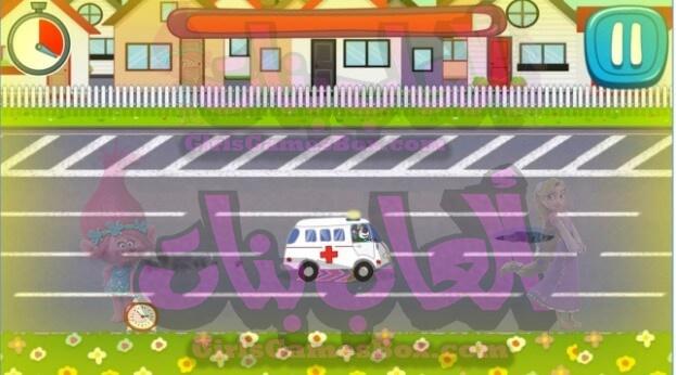لعبه مستشفى الطوارئ اطفال طبيب العاب تلبيس بنات