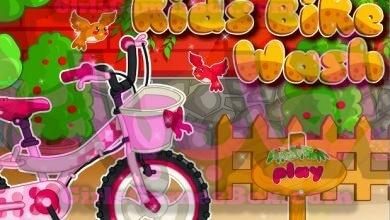 Photo of لعبة غسيل الدراجة