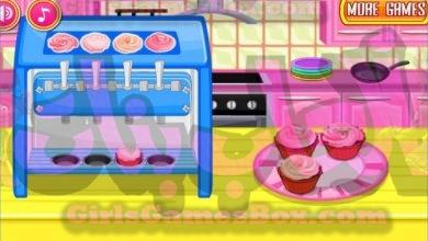 لعبة اخبز كب كيك العاب طبخ