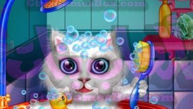 لعبة غسل وعلاج الحيوانات الأليفة العاب بنات ستايل