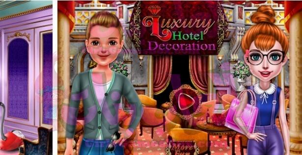 لعبة فندق فخم ألعاب الديكور العاب ديكور