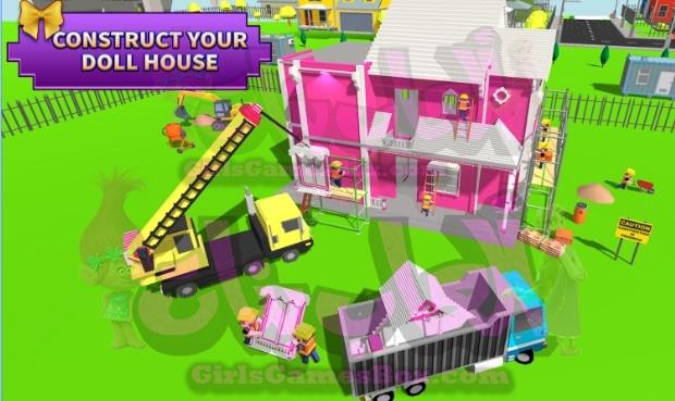 لعبة بيت الدمية تصميم والديكور: بنات البيت ألعاب العاب بنات ستايل