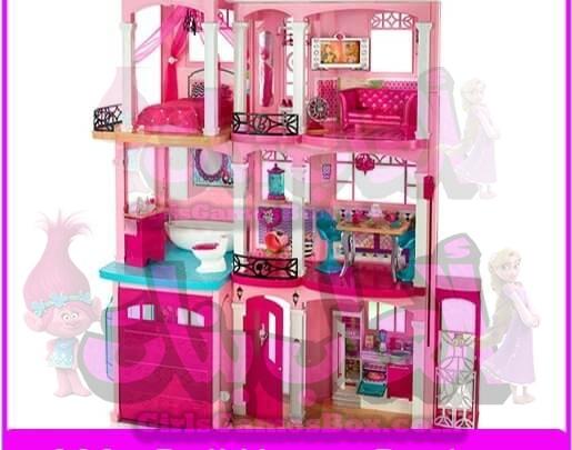 لعبة دمية باربي تصميم البيت العاب باربي
