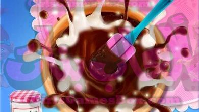 لعبة حلويات بالشيكولاته العاب طبخ