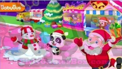 لعبة مدينة ملاهي الباندا العاب بنات ستايل