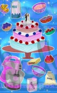 لعبة كعكة الزفاف من العاب طبخ
