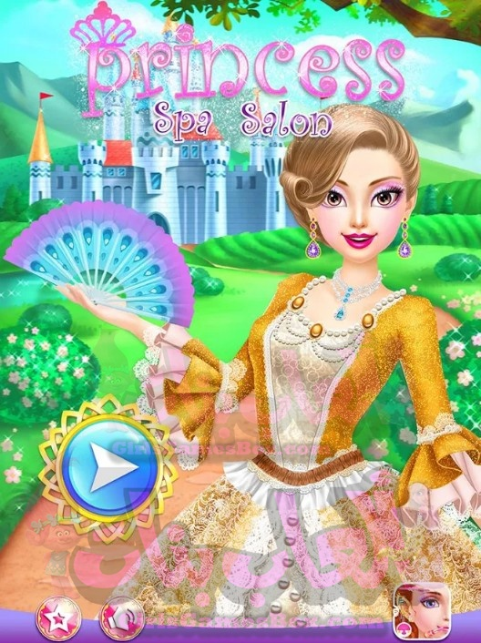 تحميل لعبة Princess Spa Salon