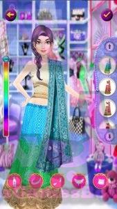 Dress Up and Makeup Indian