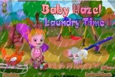 تحميل لعبة Baby Hazel Laundry