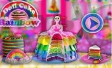 تحميل لعبةRainbow Doll Cake Maker Chef
