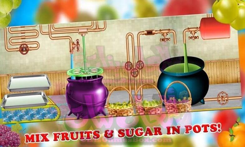 لعبة مصنع عصير الفواكه
