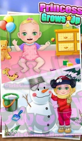 تحميل لعبة Princess Grows Up
