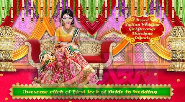 تحميل لعبة Royal Indian Wedding Rituals and Makeover
