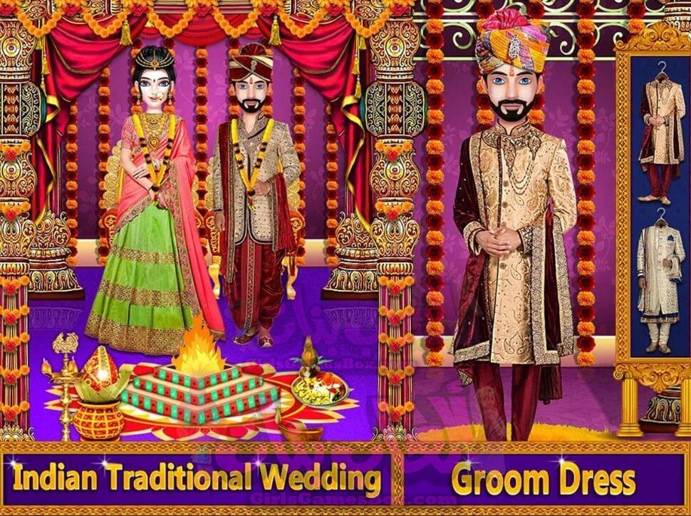 تحميل لعبة الحب الزفاف الهندي مع ترتيب الزواج