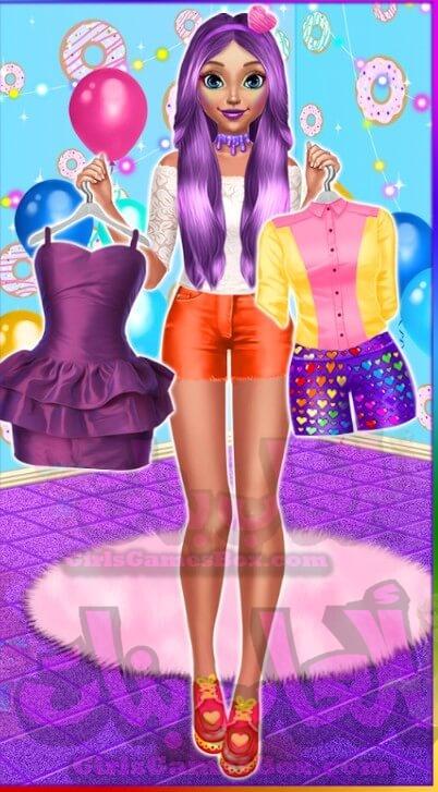 تحميل لعبة Candy Fashion Dress Up