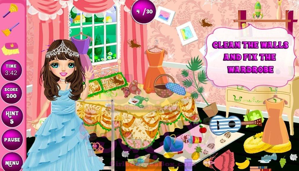 تحميل لعبة Princess Room Cleanup