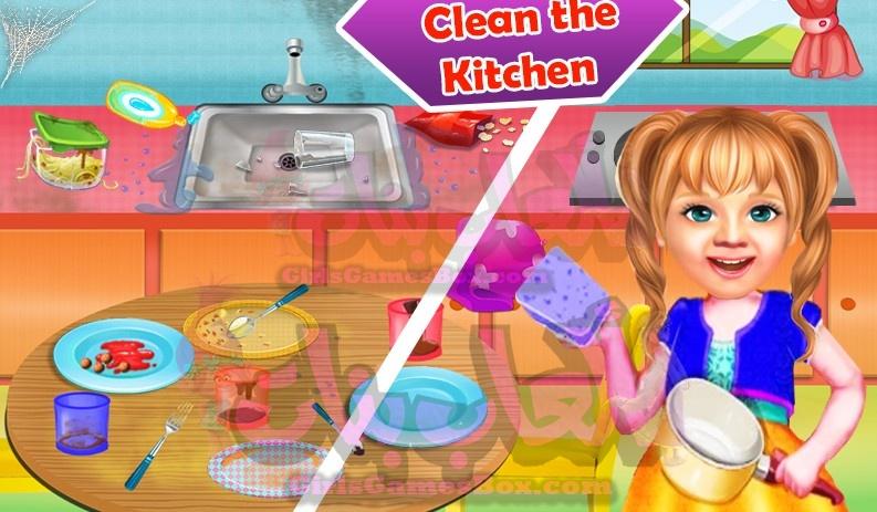 تحميل لعبة الحلو بيبي فتاه تنظيف